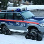 160210 Zermatt Polizeiauto