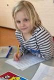 Lanyssa is ook hard aan het werk!
