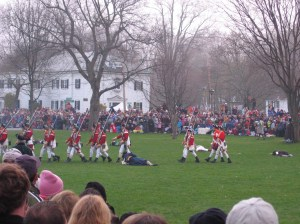 Lexington Green Re-Enactment in 2009