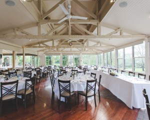 Briars Country Lodge wedding reception room