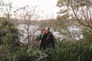 Andrea and Neil engagement photography in Cremorne Point Sydney