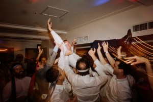 Bride and Groom dance at Watsons Bay Boutique Hotel wedding reception