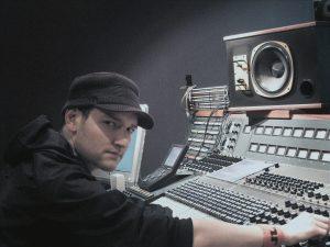 Derek Gibbons Neve Mixer