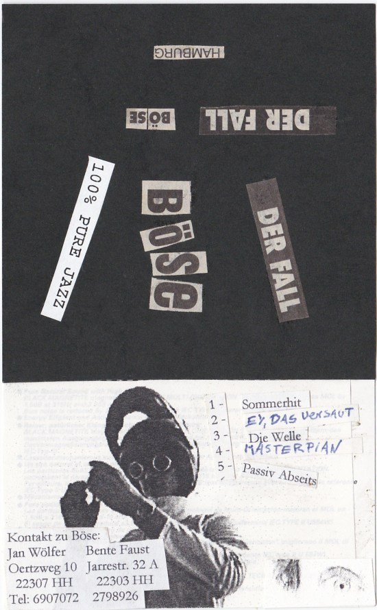 1. Tapedemo Cover 1997