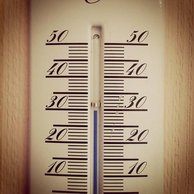 Richtige Temperatur zum Feierabend machen!