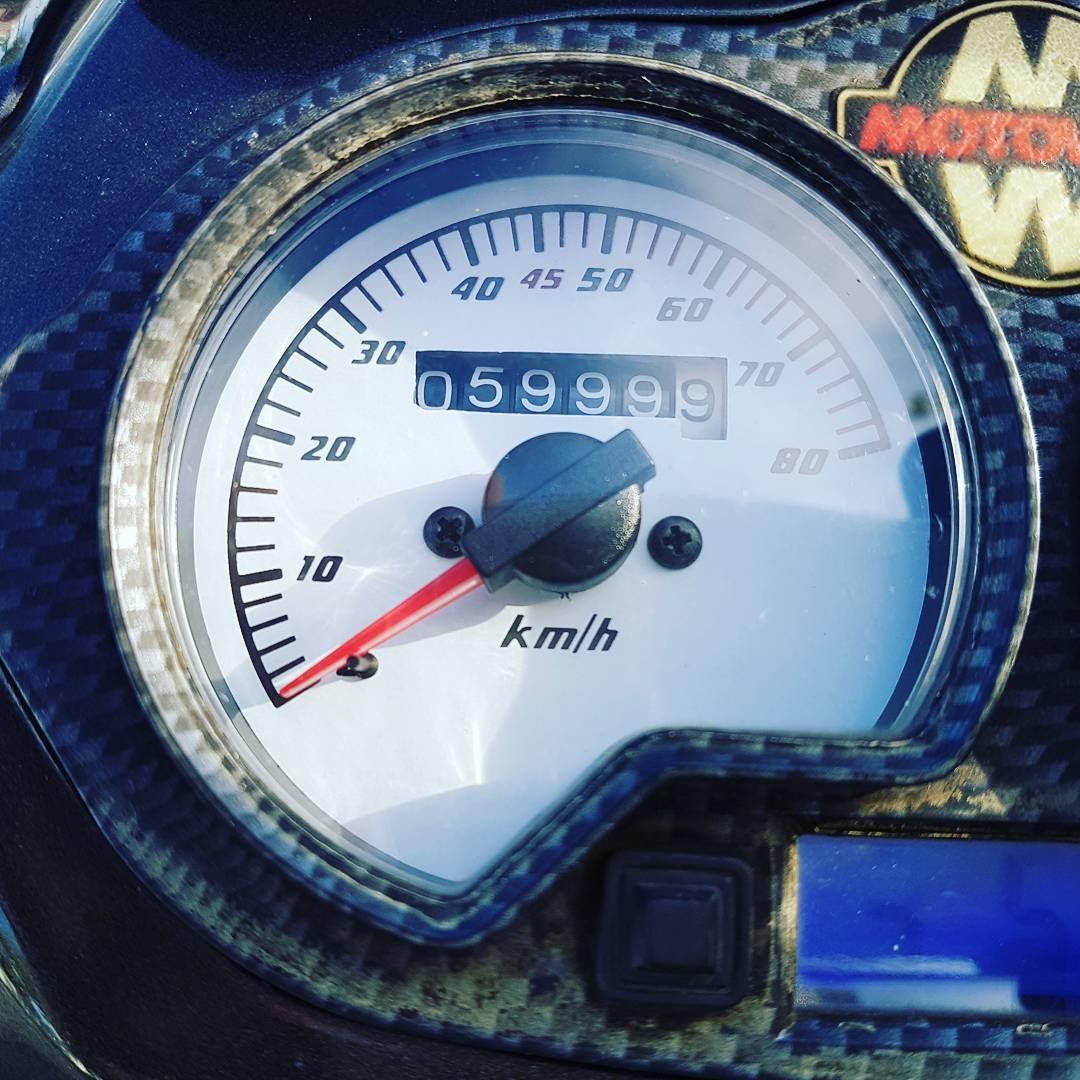 5999km. Wie die Zeit und Kilometer vergehen. Auf zur nächsten Inspektion