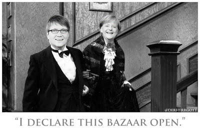 """I declare this bazaar open!"""