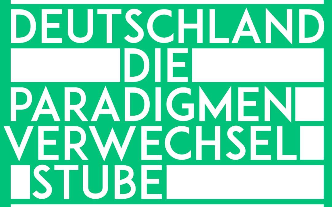 Deutschland  – die Paradigmenverwechselstube