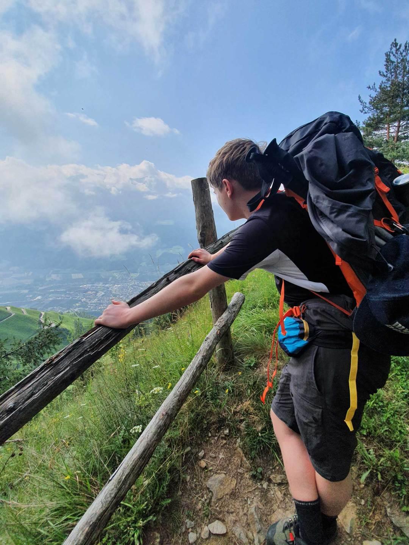Meraner Höhenweg mit Hund Tag 2