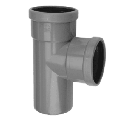 PVC T-STUK 90° MANCHET-SPIE