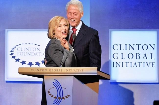 Norge har gitt mellom 500 og 1000 millioner til Clinton-fondet. Et fond som stinker av korrupsjon lange veier.