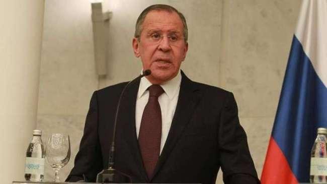 Lavrov sier han er sikker på at USA ikke vil intervene i Venezuela