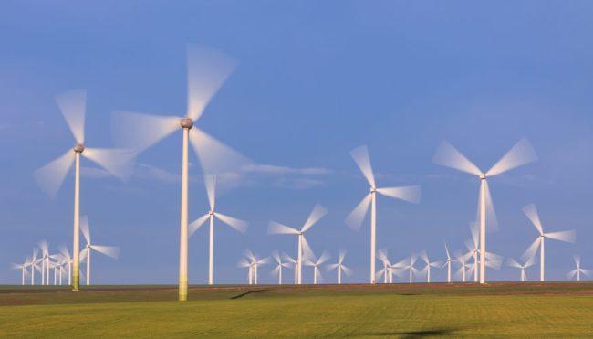 Danmark blir mer og mer avhengig av fornybar.