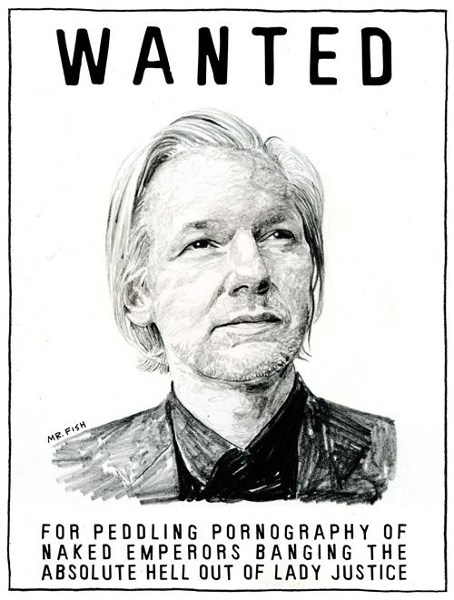 Assange skal nå svertes slik at utleveringen blir en uproblematisk sak. Hvor er støtte fra norske journalister?