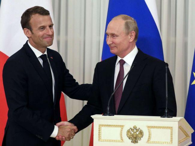 Macron vil ha Putin inn i EU-varmen. Er han for seint ute?