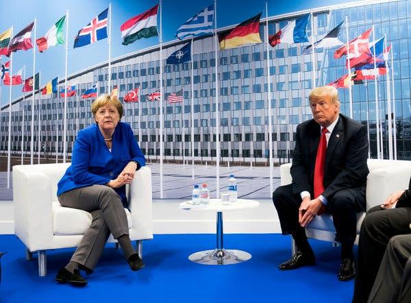 Meningsmåling: Tyskere flest vil ikke føle seg mer utrygge om USA trakk ut troppene fra landet.