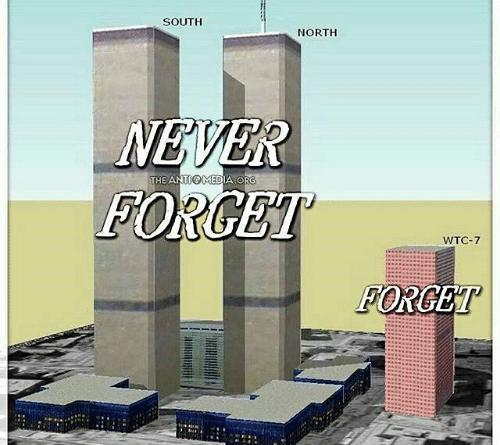Hvordan kan det ha seg at en bygning som ikke var truffet av fly kollapset