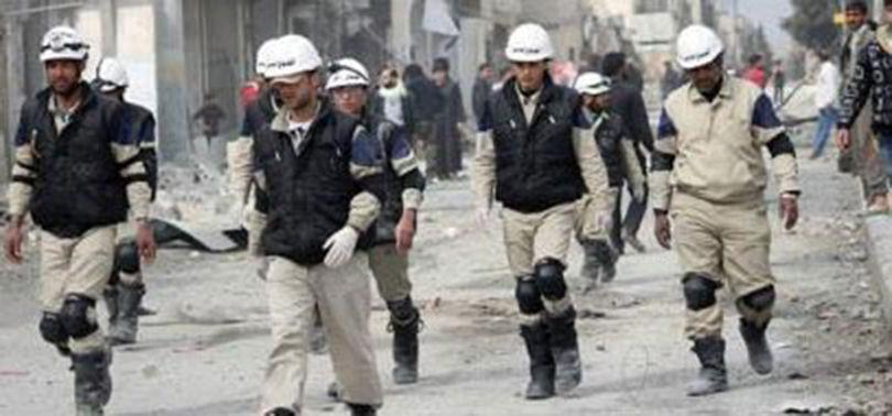 Hvite Hjelmer er en jihadistisk propaganda-organisasjon forkledd som et humanitært tiltak. Målet er å sverte Syrias regjering.