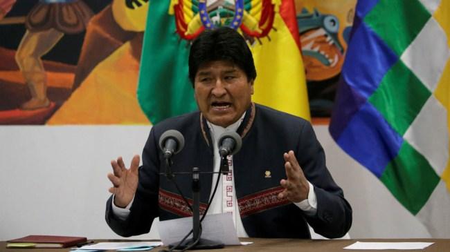 Morales parti MAS kan vinne valg på nytt i Bolivia. Høyresiden er splittet.
