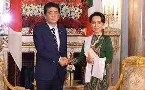 Nå støtter også Japan Myanmars regjering sin kamp mot muslimsk ekstremisme.