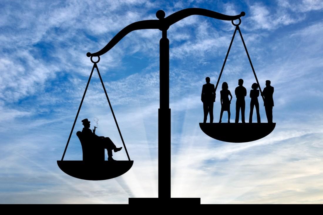 Arveavgift for de rikeste bidrar til reduksjon av økonomiske og sosiale forskjeller.