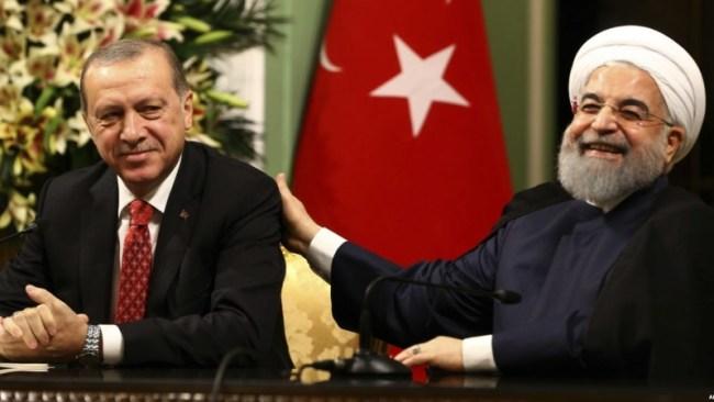 Nå sloss Iran på samme side som Tyrkia og Nato i Libya.