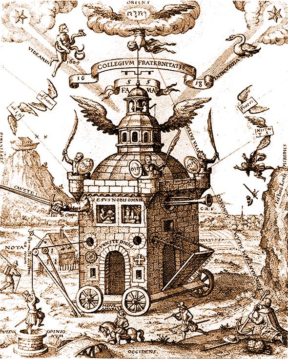 Gül Haç Tapınağı, Teophilus Schweighardt Constantiens, 1618
