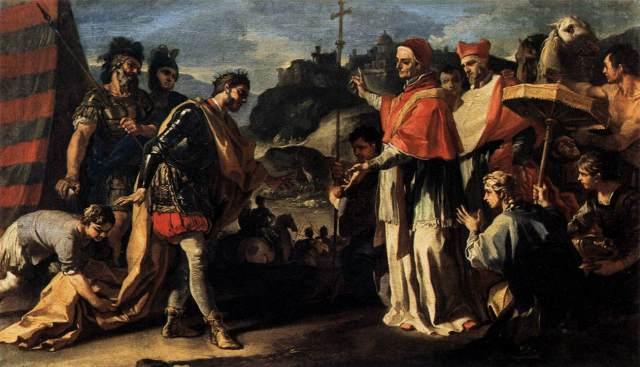 Papa 1. Leo ve Attila