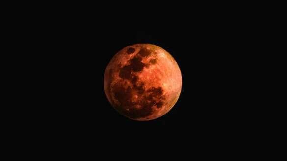 5 Haziran Yay Burcunda Ay Tutulması