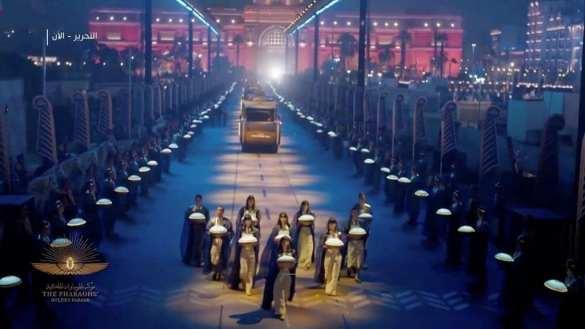 firavunların geçit töreni
