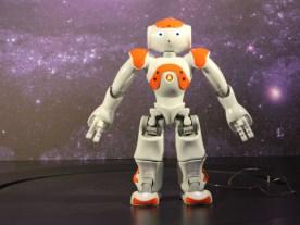 Roboter NAO (Foto: Rüdiger Hengl)