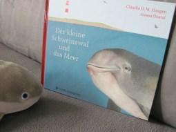 Hallo, kleiner Schweinswal! (Foto: Susanne Gugeler)
