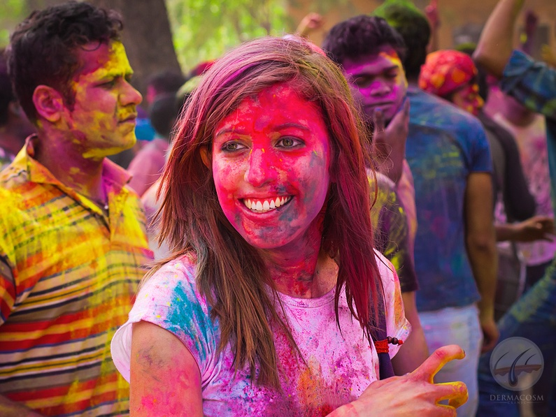 Skin care tips for Holi