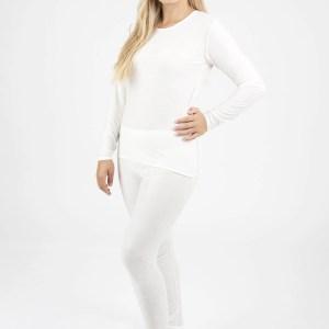 woman wearing dermacura leggings
