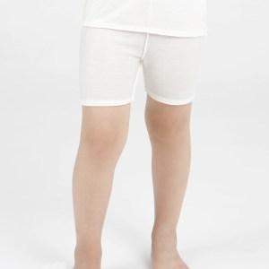 child wearing dermacura shorts