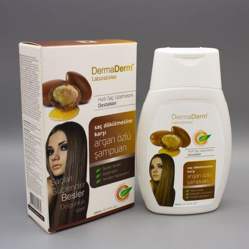 Dermaderm Argan Yağı Özlü Saç Bakım Şampuanı 300 ml