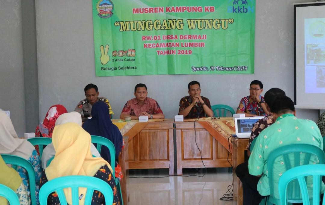 Pengurus Kampung KB Munggang Wungu Selenggarakan Musyawarah Penyusunan Program