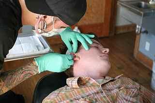Piercing de l'oreille