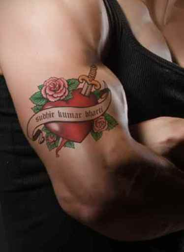 Tatouage du bras