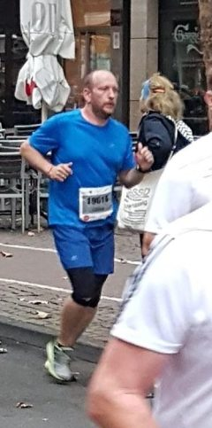 Läufer Halbmarathon Köln 2018