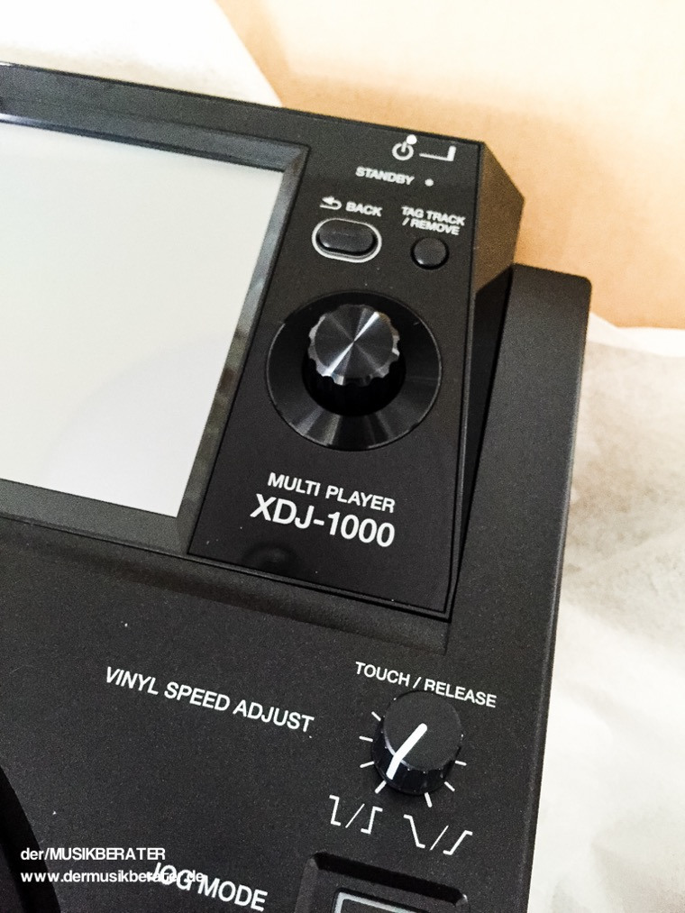 04 Pioneer DJ XDJ 1000 Traktor HID Serato Case Player Nexus Z2 Traktor 2.10 Blog Tech www.dermusikberater.de 08-2015
