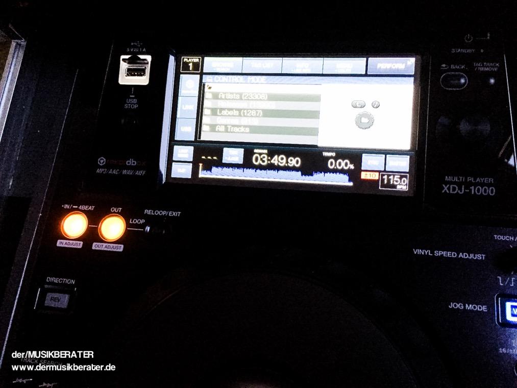 27 Pioneer DJ XDJ 1000 Traktor HID Serato Case Player Nexus Z2 Traktor 2.10 Blog Tech www.dermusikberater.de 12-2015