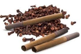 Cigarettes aux clous de girofle