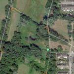 satellietfoto Natuurtuin De Robbert