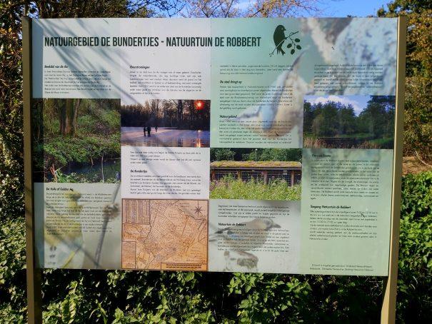 informatiebord natuurtuin
