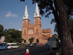 Imported French Cathedral in Saigon