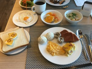 free breakfast, dinner at Okinawa Chatan Hilton Resort