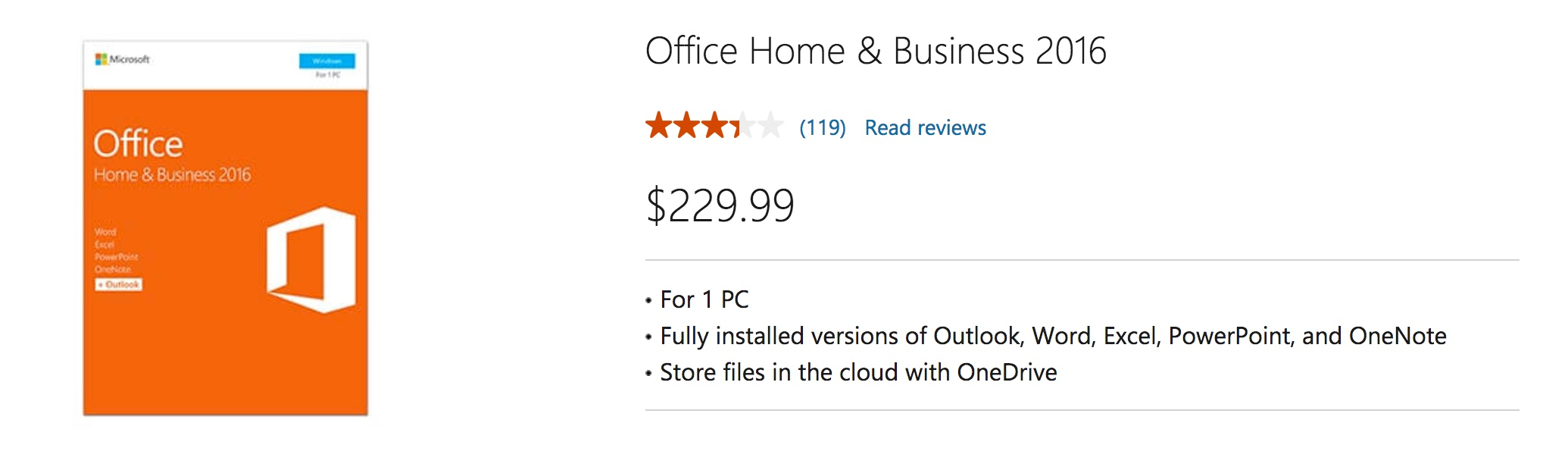 PC and Mac versions of Microsoft Office 2016 for just $9 95