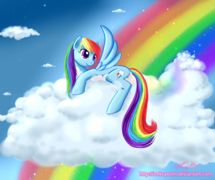 Rainbow Dashby =Nekoponn