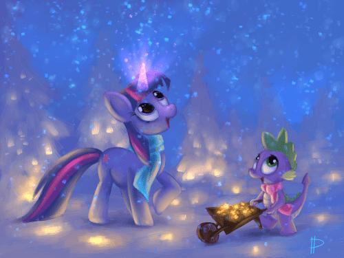 So many sparkles by ~Rom-Art